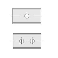 MG06 / MG18 kwaliteit (1 of 2 gaten)