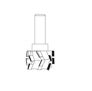 diamant CNC frees Ø 50 mm.