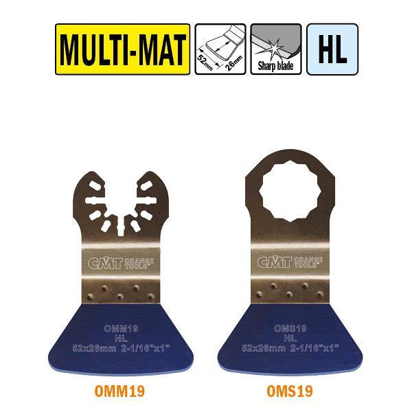 52 mm. vaste schraper voor alle materialen