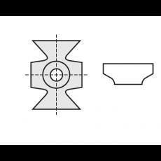 Kantenbreker 16 x 22 x 5 mm.  R=3
