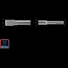 SDS+ platte beitel 20x250mm