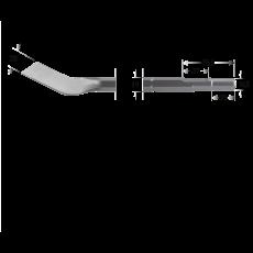 6-kant 19/16,5x35 mortelbeitel, 28x300mm