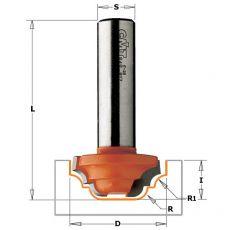 Hm profielfrees Ø 19 mm.  R=4