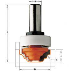 Hm profielfrees Ø 31,7 mm.  R=4  +lager