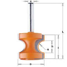 Hm halfronde frees Ø 22,2 mm.  R=3,2