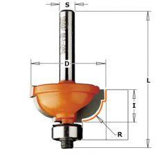 HM bolle radiusfrees Ø 31,7 x 14,3/56,9  mm.  R=8