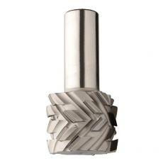 Diamantfrees Ø50x38mm. Z=4+4 S=Ø25 H=4  Links