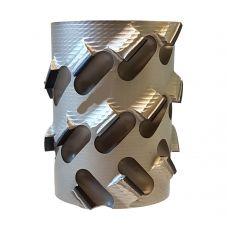 Diamantfrees Ø100 x 64/75 x Ø30mm. 8x6DKN  Z=3+3 A1  H=4,5