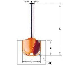 HM profielfrees Ø 19 x 16/54 mm.  R=6,4