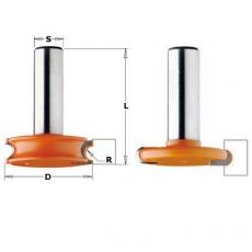 Set voor draaibare invoegingen Ø 38 mm.  R= 3,2