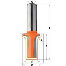 Hm klassieke profielfrees Ø22- Ø12,7 x31,7/69 mm. R3,2