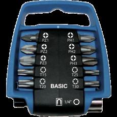 11 delige BASIC bitclip set