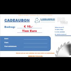 RS Tools cadeaubon € 10,-
