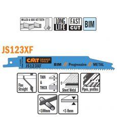 Bi-metaal reciprozaagblad 150 x 0,9 mm. 8-14tpi  (5 stuks)