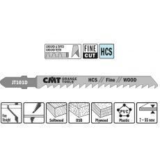 Decoupeerzaag HCS 75 x 100 mm. 6tpi (fine,wood)