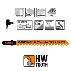Decoupeerzagen HM 75 x 100 mm. 6tpi (fiber & plaster)