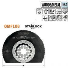 85 mm rond HSS zaagblad voor hout en metaal