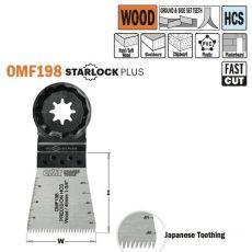 Dubbelrijige Japanse vertanding voor alle houtsoorten, 45mm