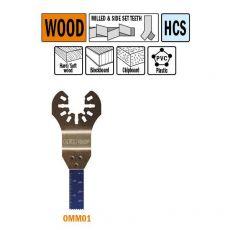 10 mm. multitool voor in hout, 1st. (Universeel)