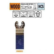 28 mm. multitool voor in hout 1st. (Universeel)