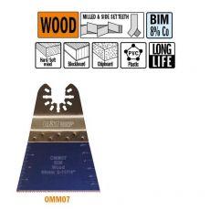 68 mm. Bi-metaal multitool voor in hout 1st. (Universeel)