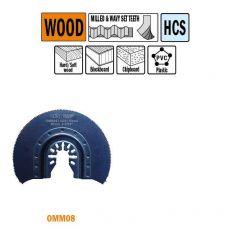 87 mm. Radial-zaagblad voor hout 1st. (Universeel)