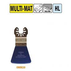 52 mm. Flexibele schraper voor alle materialen (Universeel)