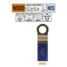 28 mm. multitool voor in hout 1st. (SuperCut)