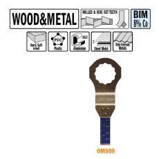 10 mm. Bi-metaal multitool voor hout en metaal 5st. (SuperCut)