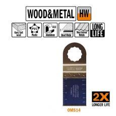 35 mm. HM multitool vertanding voor hout en metaal 1st. (SuperCut)