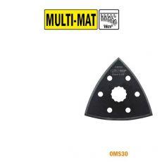 93mm driehoek schuurzool, met velcro (SuperCut)