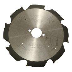 Diamantzaag Ø190 x 2,4 x 30 mm. z=8  voor cementvezelplaat