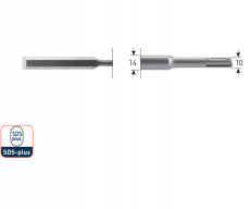 SDS+ steekbeitel 10x175mm