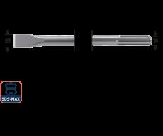 SDS-max platte beitel 25x280mm