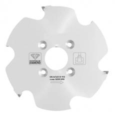 Diamant frees lamello CLAMEX P, Ø100,4 x 7 x 30 mm. z=6 (voor CNC)