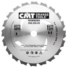 CMT snoeicirkelzaagblad Ø 250 x 2,2  z=20