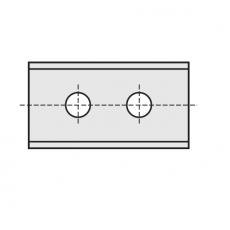 Wisselmessen 40 x 12 x  1,5 mm. HC05