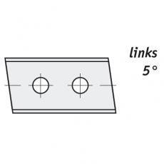 Wisselmessen 30 x 12 x 1,5 mm. HC05  links