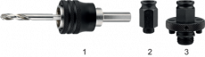 Universele Quick Change Houder voor 61.105 (32-152 mm.)