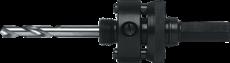 Gatzaaghouder, opname zeskant 9,5mm., gatzaag 14 t/m 30
