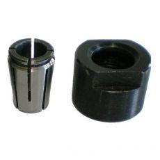 Spantang + klemmoer voor CMT7E  , Ø12,7 mm.