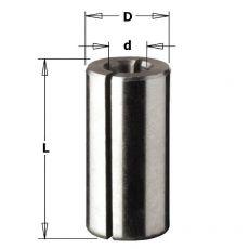 Verloopstuk voor schachten, D=16, D3=13, L=45