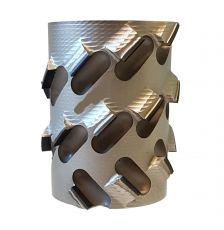 Diamantfrees Ø100 x 48/40,6 x Ø25mm. 8x3DKN  Z=2+2 B3  H=4,5
