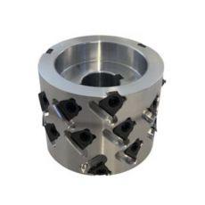 Diamantfrees Ø100 x 48/40,6 xØ25mm. 8x3DKN  Z=2+2 B2  40ºaxiaal