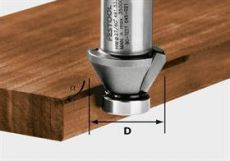 Hm fasefrees Ø 27 mm. 45º  Festool