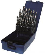 PTG® HSS cobalt boren, 19-delig Ø1-10mm (0,5mm oplopend) 3 vlaks opname