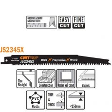 HCS Reciprozaagblad 200/180 x 19 mm. 6-10tpi (5 stuks)