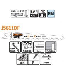 Bi-metaal reciprozaagblad 150 x 1,25 mm. 6tpi  (5 stuks)