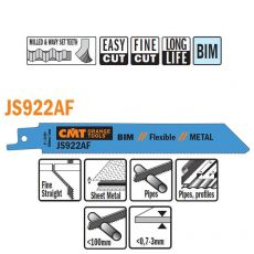 Bi-metaal reciprozaagblad 150 x 0,9 mm. 24tpi  (5 stuks)