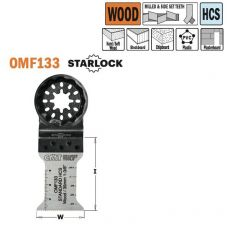 Multitool voor zagen en afkorten van hout, 35mm
